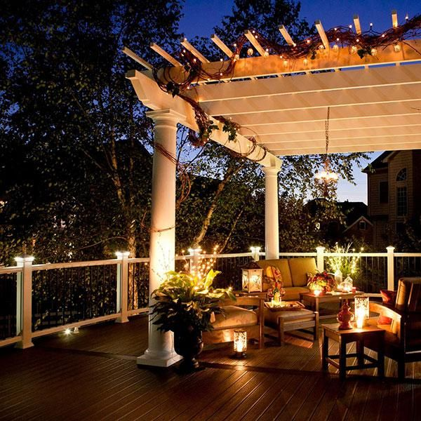 Deck Lights Pinterest: 115 Best Images About Deck Lighting Ideas On Pinterest