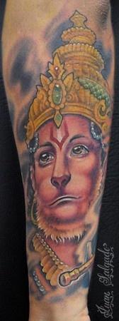 Juan Salgado - hanuman tattoo