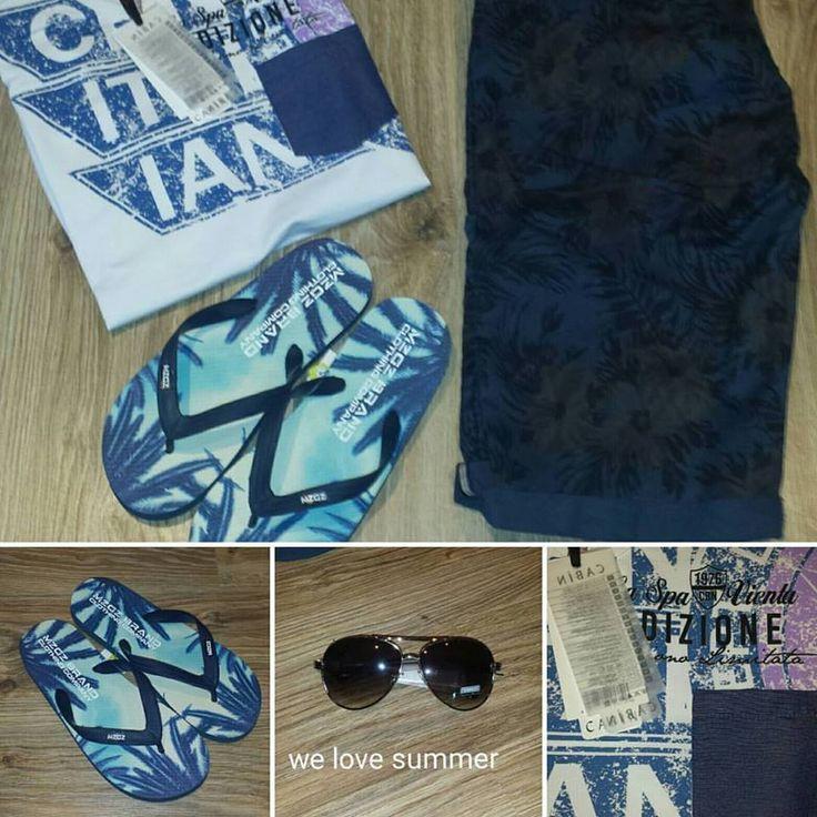 Heerlijke zomerse outfit voor op het strand.