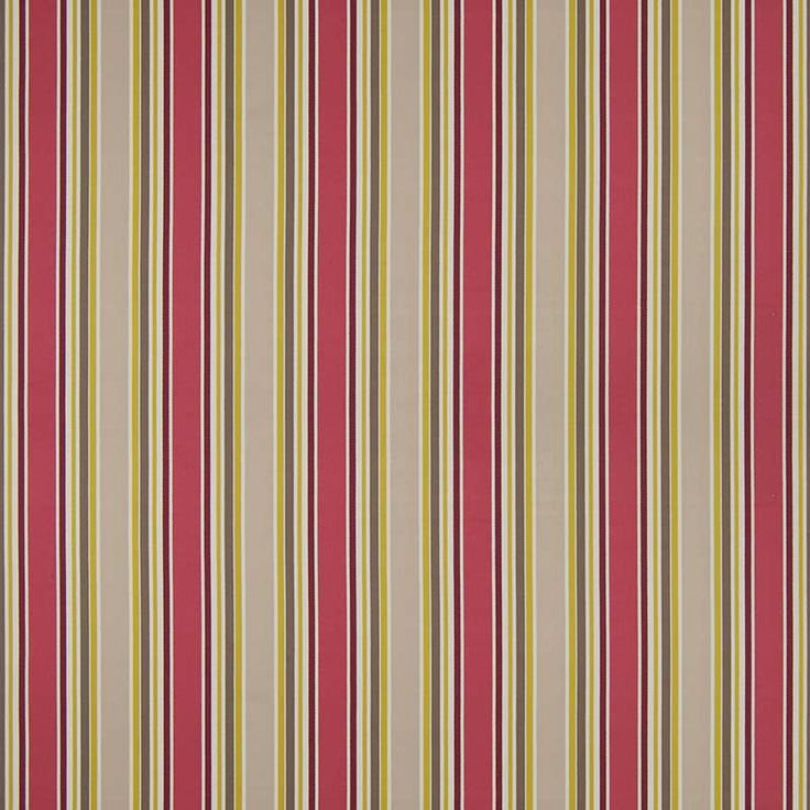 Warwick Fabrics : GOGH, Colour RASPBERRY