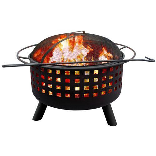 City Lights Memphis Fire Pit Black Landmann Fire Pits Grills & Fire Pits Outdoor