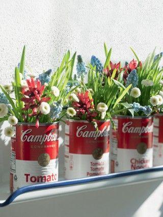 Bouquet in lattina Campbell.