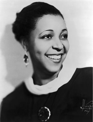 "Ethel Waters...""I know I'm somebody 'cause God don't make no junk."" [Probably one of my favorite statements of all time and one that I carry with me always.]"