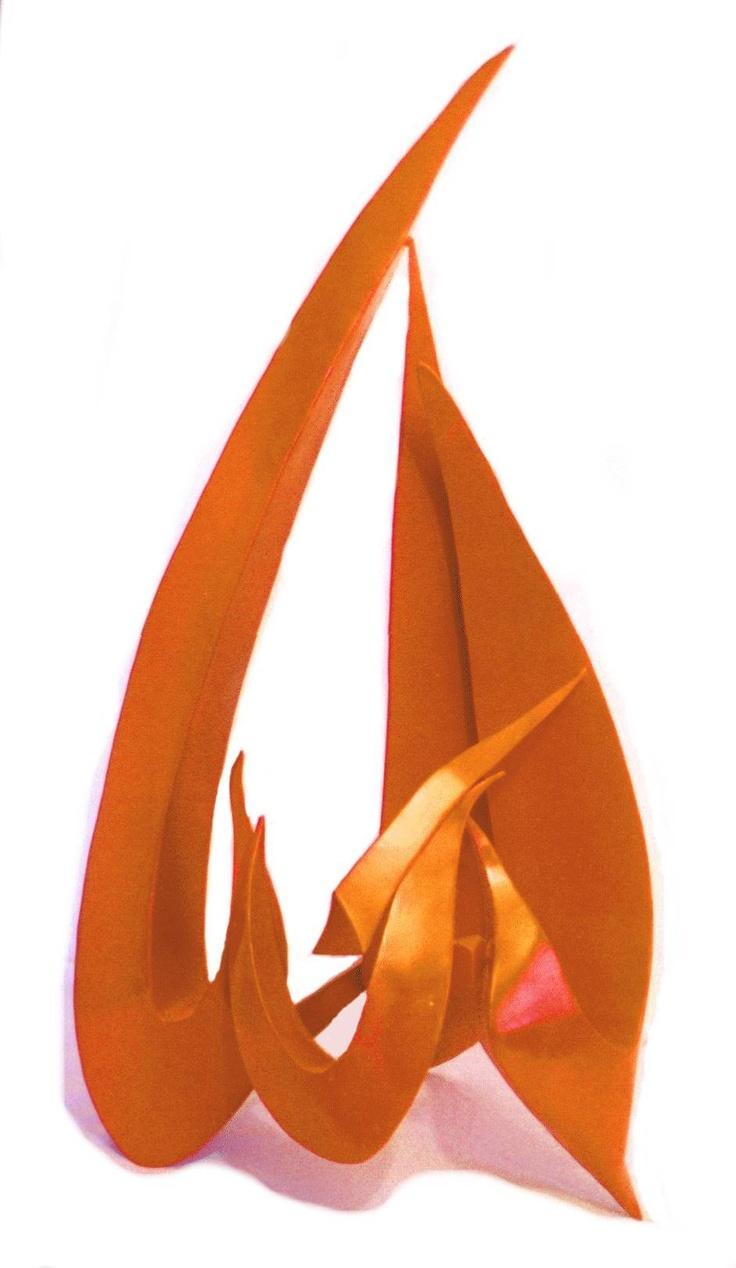 """Garden Sculpture:   Title """"Al-Jabbar""""   Modern Islamic Art  Artist: Eric Wenger, South Dakota"""