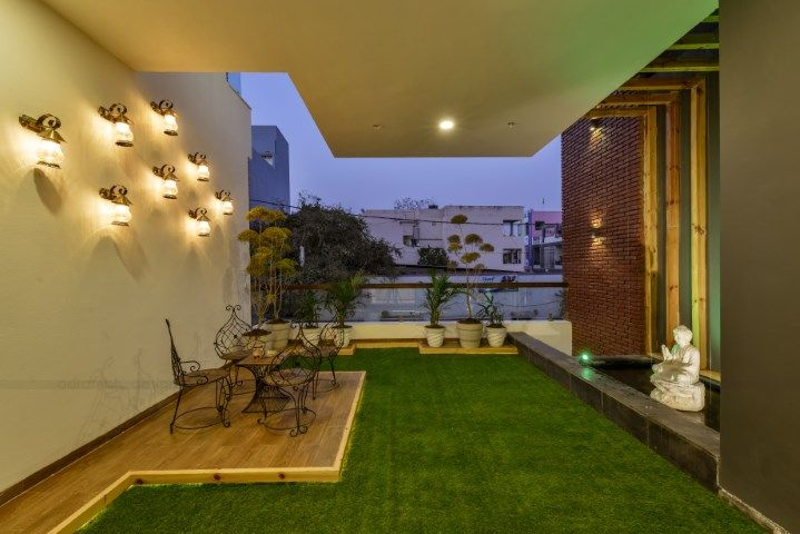 Contemporary Indian House In Indore With Images Indian Homes