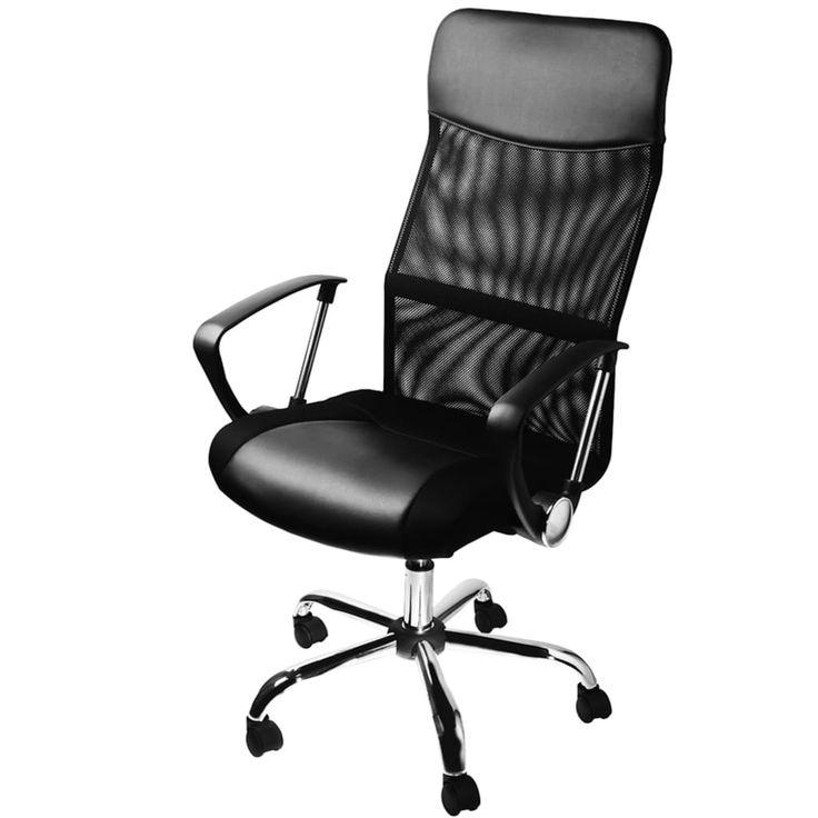 Ruckenschonendes Sitzen Dank Ergonomischer Ruckenlehne Der Burostuhl Der Marke Deuba Unterstutzt Sie Bei Ihren Alltaglichen Bu Burodrehstuhl Burostuhl Stuhle