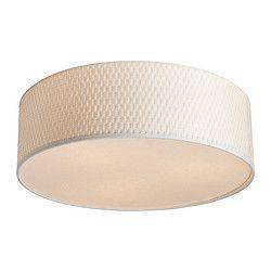 IKEA - ALÄNG, Plafonnier, , Lumière diffuse procurant un bon éclairage général dans la pièce.