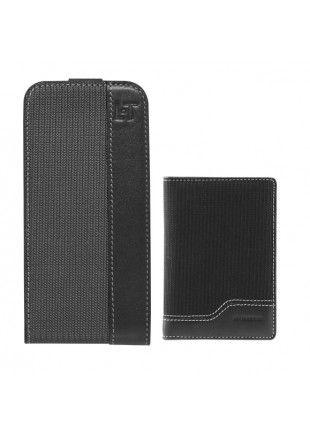 Pack Le Tanneur etui et porte cartes pour iPhone 4/ 4S http://www.phonewear.fr/7455-thickbox/pack-le-tanneur-noir-pour-iphone-4-4s.jpg 35,90€