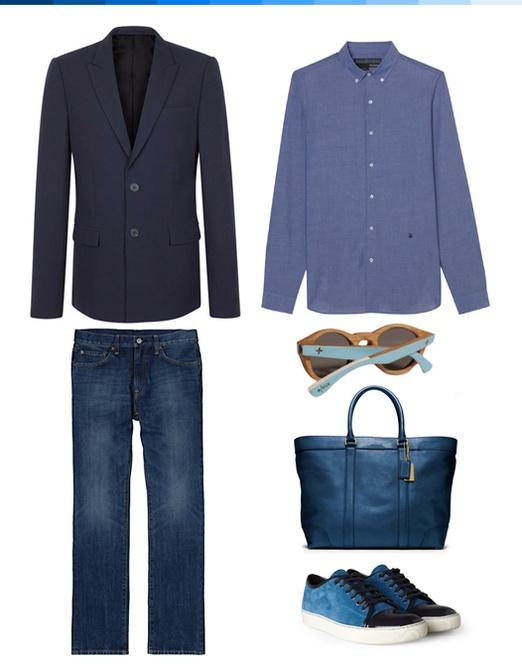 BLUE CLASSIC #STYLE