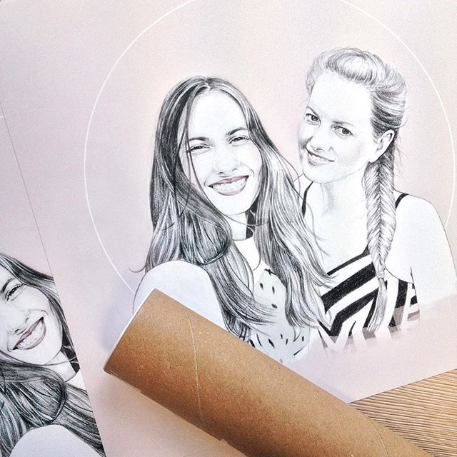 #commission 🤗 loved doing this one  #drawing #illustration #portrait #pencil #graphite #mechanicalpencil #print