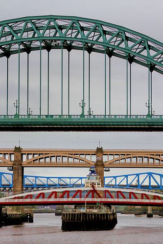 bridges over the Tyne, Newcastle upon Tyne