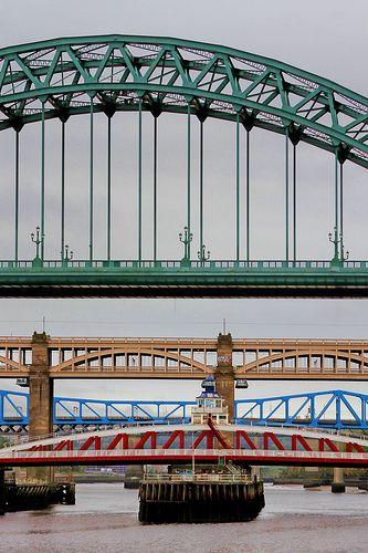 bridges over the Tyne, Newcastle upon Tyne