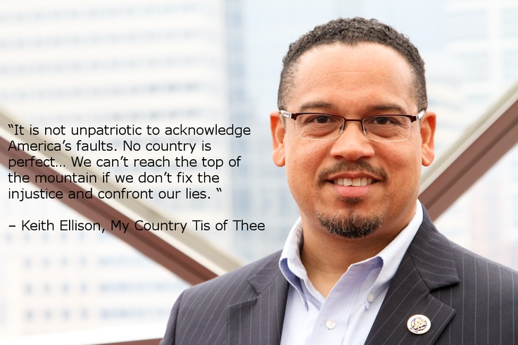 Learn more of Rep. Keith Ellison's fight against injustice:    http://books.simonandschuster.com/My-Country-Tis-of-Thee/Keith-Ellison/9781451666878 #Keith #Ellison