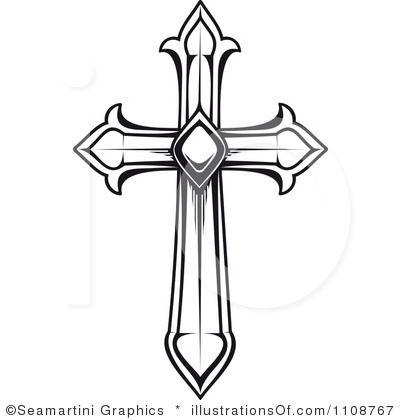 17 Best images about Cross on Pinterest | Burlap cross, Clip art ...