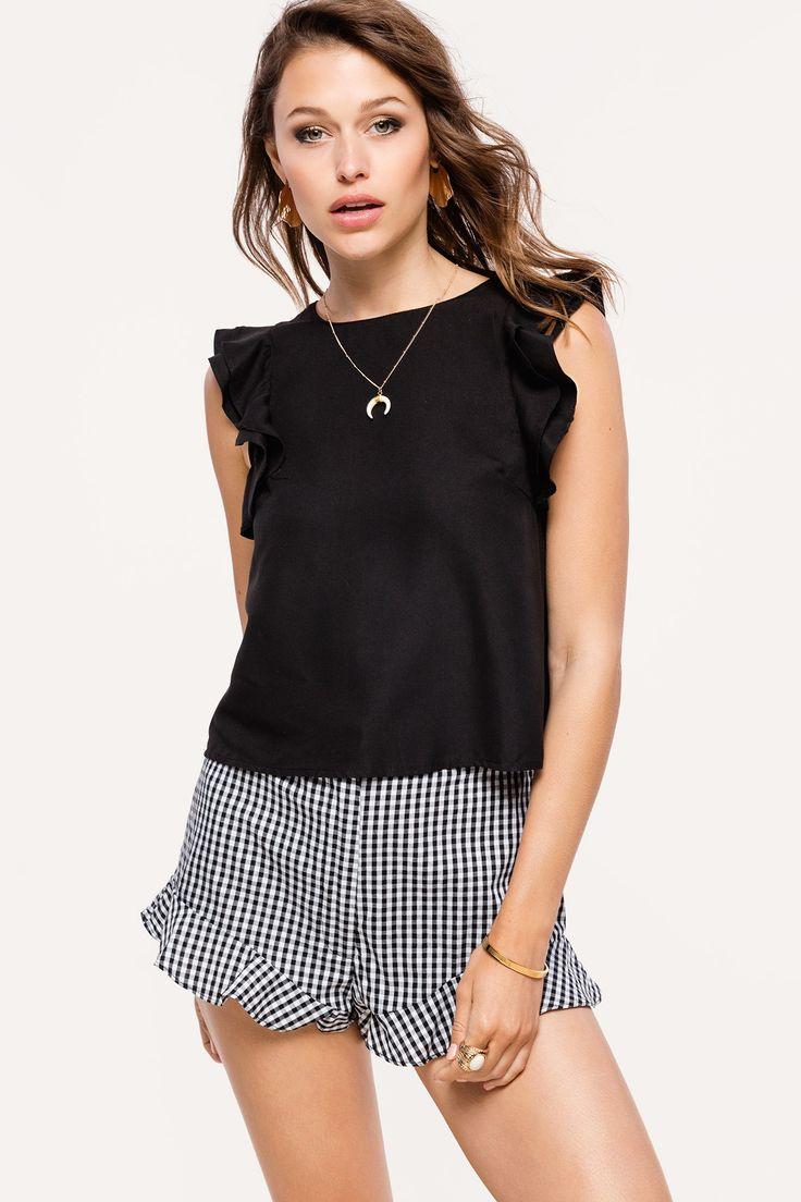 Zwarte blouse
