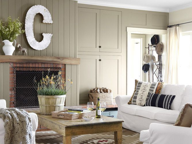 House Tour: Deep in the Heart of Texas - House Tour   Wayfair / love the color of wood work.