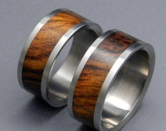 Holz-Ring Titan Ring Ehering Herren Ring von MinterandRichterDes