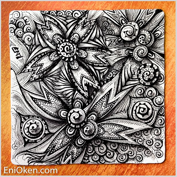 The 103 best zentangle shading images on pinterest zentangle learn how to create amazing zentangle enioken fandeluxe Image collections