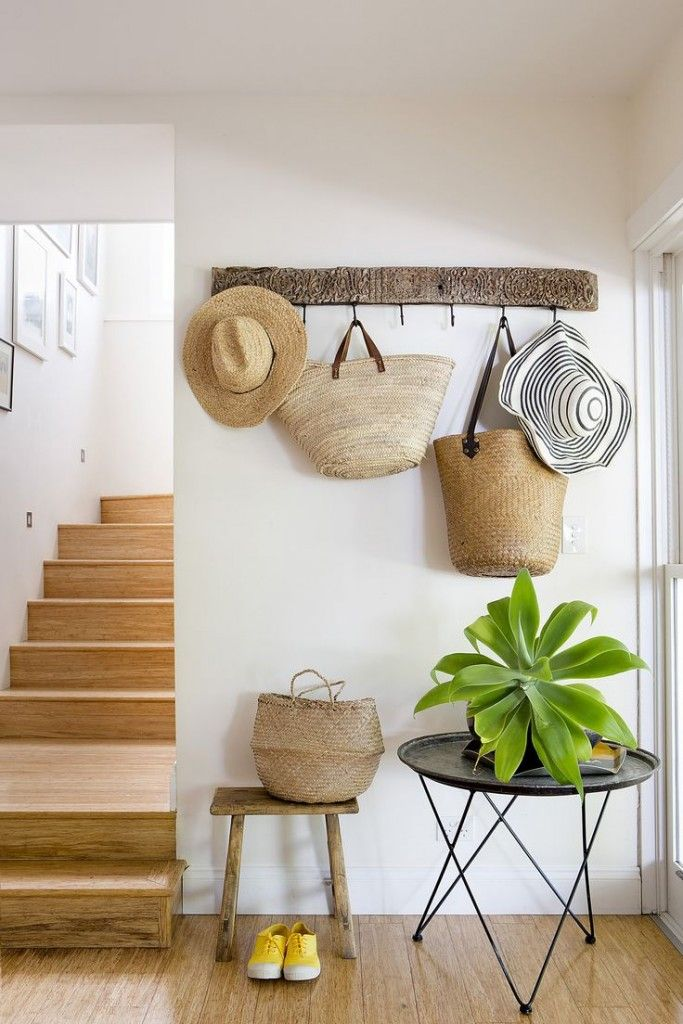 [En direct] Decorating with straw hats, bags and baskets - Chic deco @Chicdecoblog