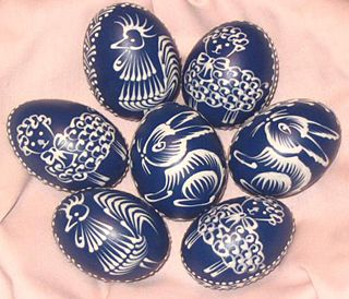 czech batik eggs  | Type of eggs