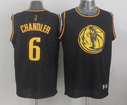 Dallas Mavericks #6 Tyson Chandler Revolution 30 Swingman 2014 Christmas Day Black Jersey