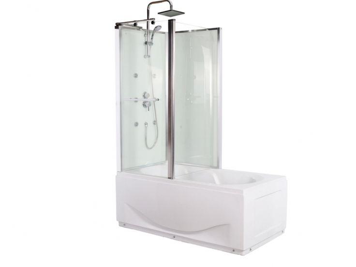 Douche baignoire baln o altea ii avec 4 jets de massage fonction pluie tropi - Douche pluie tropicale ...