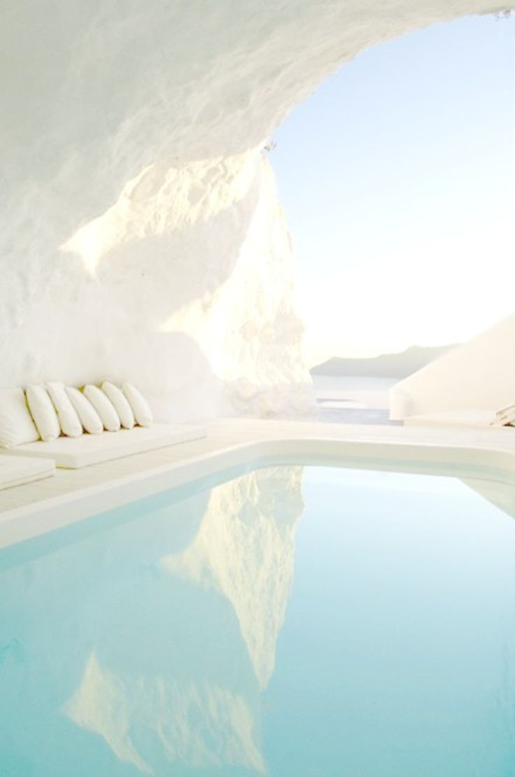 Katikies Hotel, Santorini: http://www.stylemepretty.com/living/2016/06/21/5-of-the-dreamiest-ever-pools-we-want-to-float-in-stat/