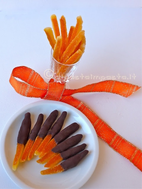Marmellata di arance e scorzette candite!