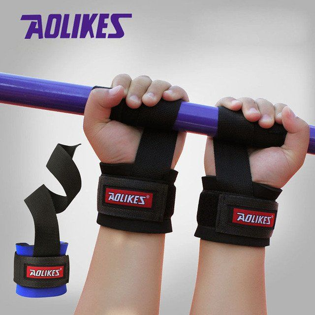 New Weight Lifting Gym Sport Wristband Fitness Wrist Support Straps Wraps With Hand Power Bands Training