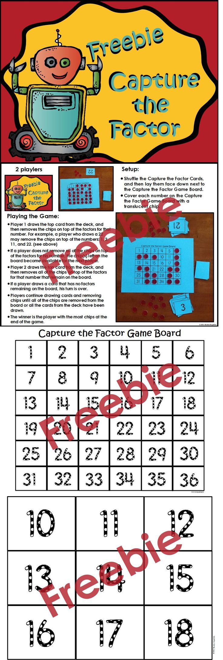 Worksheet List All The Factors Of 100 10 best ideas about factors on pinterest and multiples updated capture the factor is a engaging game in which students practice finding of numbers this easy