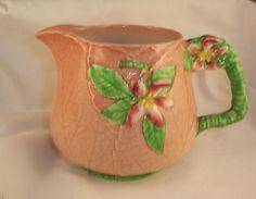 Very Rare Carlton Ware Pink Apple Blossom JUG | eBay