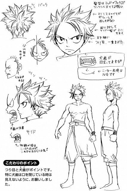 How to draw: Natsu Dragneel 2