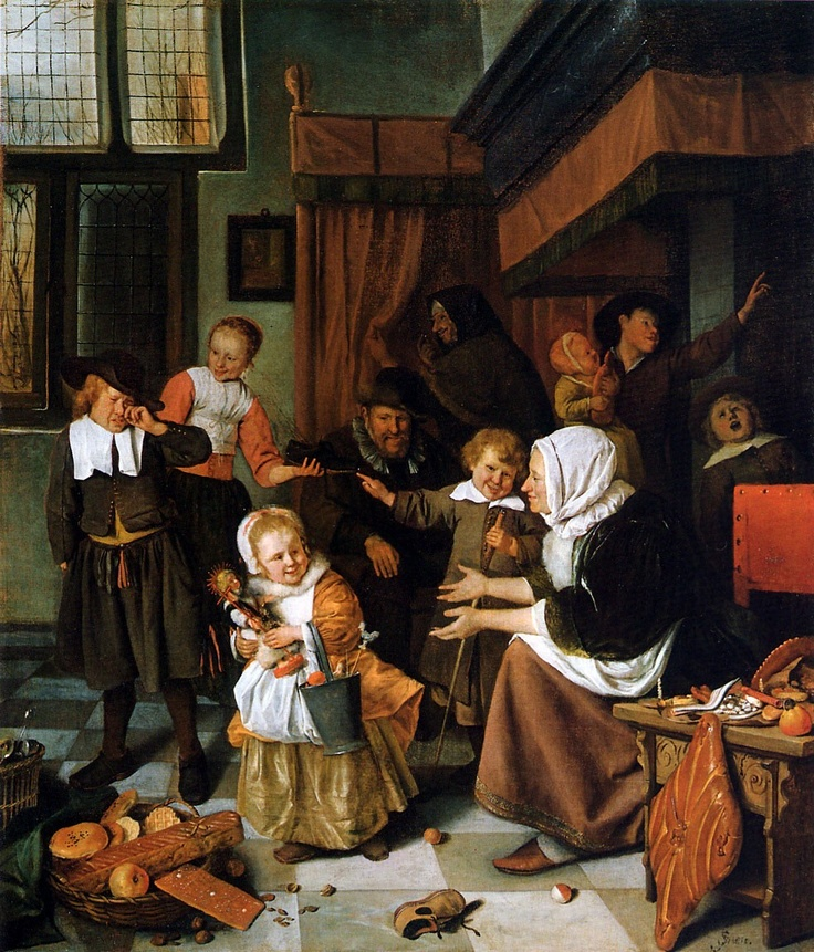 #sinterklaas #sint nicolaas #sint #jan steen #dutch #the netherlands #belgium #baroque
