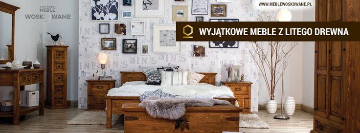 drewniana sypialnia to idealne rozwiązanie dla ludzi poszukujących mebli z drewna w klasycznej formie.