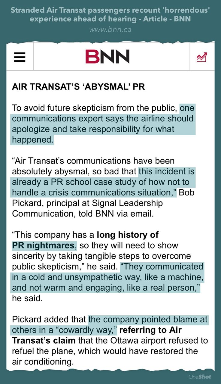 My candid comments about the latest airline PR disaster