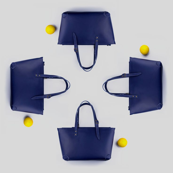 Pickpocket Bags - Apside Bag - Leather Bag - Blue Leather - Blue Bag by Pickpocket - Pickpocketbags