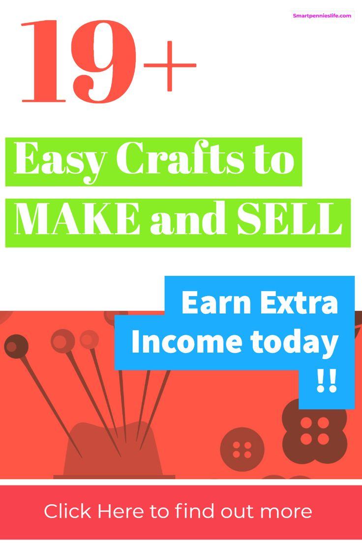 Wie wäre es mit mehr als 19 Heimwerkern, mit denen Sie heute Geld verdienen können? Dieser Beitrag listet einige der …   – Crafts to make and sell