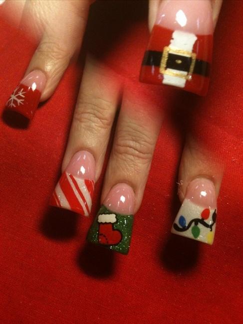 xmas nails - Nail Art Gallery | Nails | Pinterest | Xmas nails, Nail ...