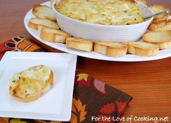 Crab and Artichoke Dip | ireallylikefood | recipes | Pinterest