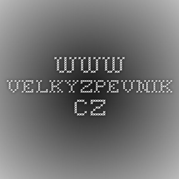 www.velkyzpevnik.cz