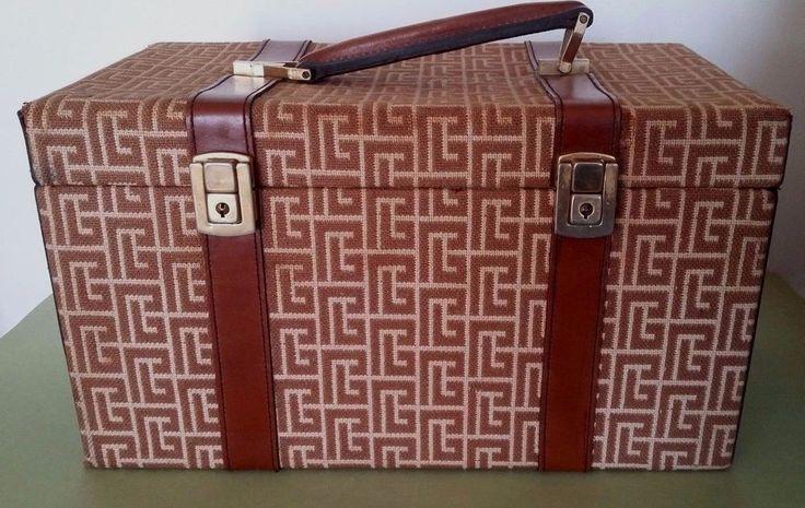 Vanity Case Pierre Balmain Vintage Fashion French Vanity Case  #Vanitycase