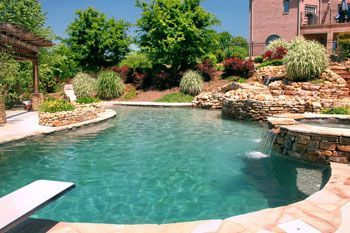 1000 images about awesome inground pool designs on for Pool design greenville sc