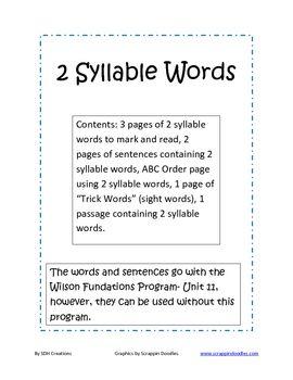 Wilson Reading Worksheets | ABITLIKETHIS