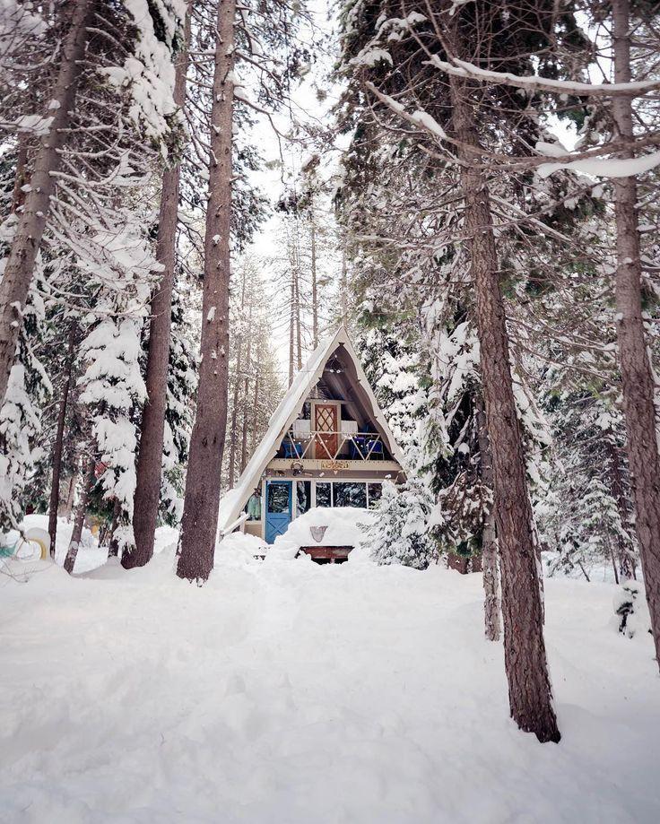 Beautiful snowy Sweden