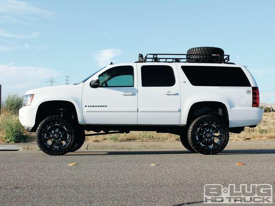 2007 Chevrolet 2500 Suburban Defender Roof Rack