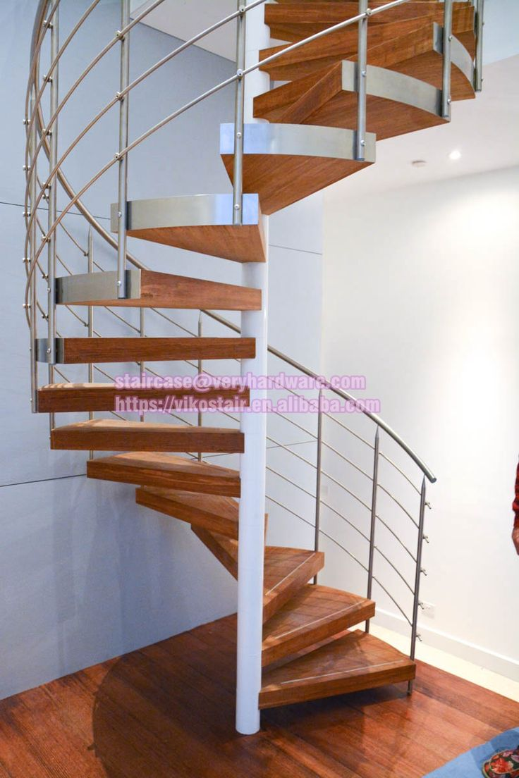 Best Viko Solid Oak Wood Spiral Staircase Spiral Stairs 640 x 480