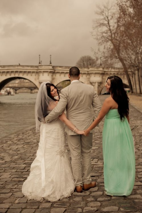 Maid Of Honor - Paris elopement photographer Juliane Berry