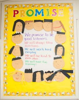Do This the first week of school when reviewing the expectations….Have each student make themselves and sign the promise.