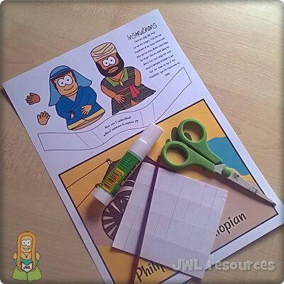 Philip & Ethiopian (Acts 8) | Make