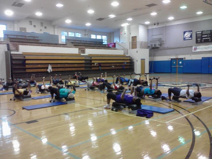 Coach Makeba's Women On Weights class